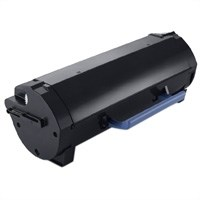 Sort lasertoner - dell 593-11165 - 2.500 sider
