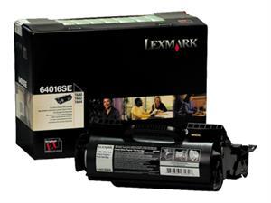 Image of   Sort lasertoner - Lexmark 64016SE - 6.000 sider
