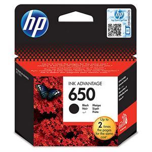 Sort pigmenteret blækpatron - HP nr.650 - 360 sider