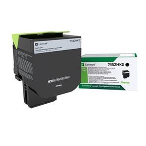 Image of   Sort lasertoner - Lexmark 71B2HK0 - 6000 Sider