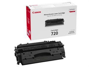 Image of   Sort lasertoner 720 - Canon - 4.000 sider.