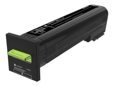 Image of   Sort lasertoner - Lexmark 72K2XKE - 33000 Sider