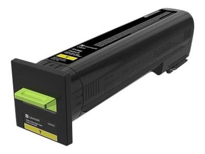 Image of   Gul lasertoner - Lexmark 72K2XYE - 22000 Sider