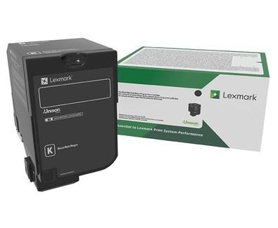 Image of   Sort lasertoner - Lexmark 827BK - 20.000 sider