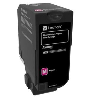 Image of   Magenta lasertoner - Lexmark 74C20M0 - 3.000 sider