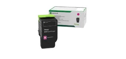 Image of   Magenta lasertoner - Lexmark 78C20M0 - 1400 sider.