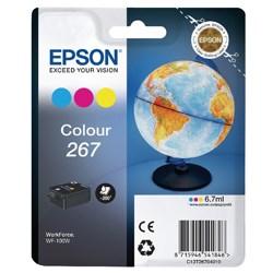 Image of 3-i-en farve blækpatron - Epson 267 - 6,7 ml
