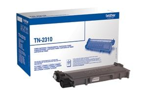 Image of   Sort lasertoner - Brother TN-2310 - 1.200 sider
