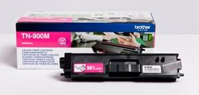 Image of   Magenta lasertoner TN-900M - Brother - 6.000 sider.