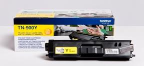 Image of   Gul lasertoner TN-900Y - Brother - 6.000 sider.