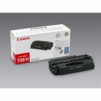 Image of   Sort lasertoner 708H - Canon - 6.000 sider.