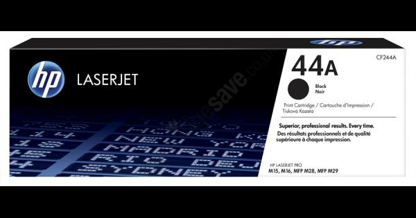 Sort lasertoner - hp nr.44a - 1.000 sider