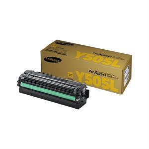 Image of   Gul lasertoner Y505 - Samsung - 3.500 sider