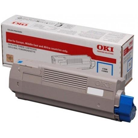 Image of   Cyan lasertoner - OKI 46490403 - 1.500 sider