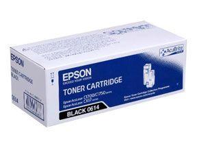 Sort lasertoner  0614 - Epson - 2.000 sider.