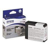 N/A Light light sort blækpatron 5809 - epson - 80ml. fra printerpatroner.dk