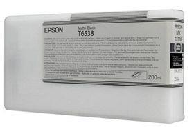 Mat sort blækpatron - epson t6538a - 200ml. fra N/A fra printerpatroner.dk
