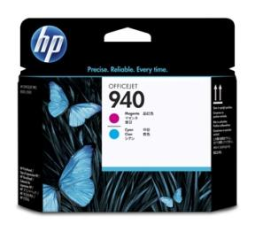 Image of   Magenta & cyan printhoved - HP nr.940 -