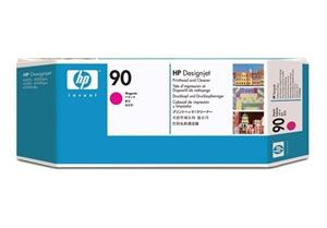 Image of   Magenta printhoved og Print Cleaner - HP nr.90 -