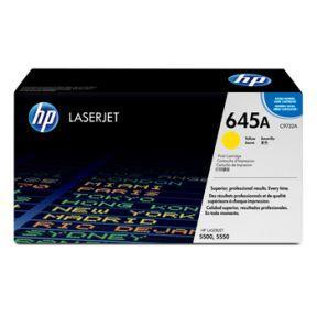 Image of   Gul lasertoner Nr.645A - HP - 12.000 sider.