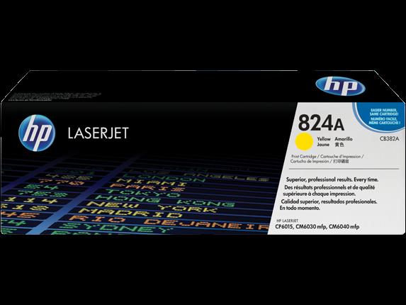 Gul lasertoner - hp nr.382 - 21.000 sider