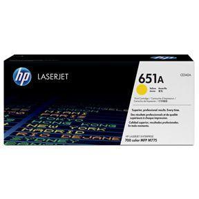 Image of   Gul lasertoner - HP 651A - 16.000 sider