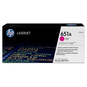 Image of   Magenta lasertoner - HP 651A - 16.000 sider