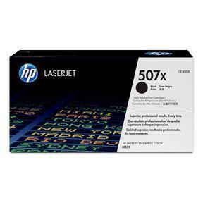 Sort lasertoner - HP 507X - 11.000 sider