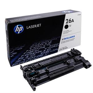 Sort lasertoner - hp nr.26a - 3.100 sider