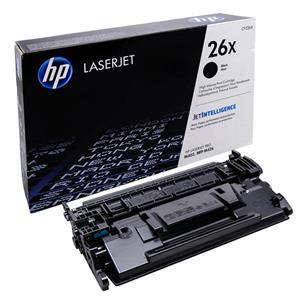 Sort lasertoner - HP nr.26X - 9.000 sider
