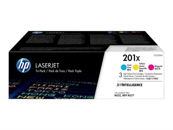 Image of   3-Pak lasertoner - HP 201X - 3x2.2300 sider