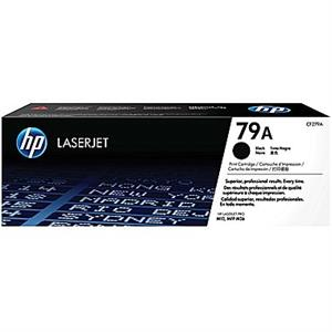 Image of   Sort lasertoner - HP 79A - 1.000 sider