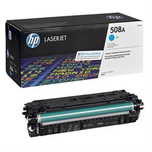 Image of   Cyan lasertoner - HP nr.508A - 5.000 sider