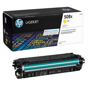 Image of   Gul lasertoner - HP nr.508X - 9.500 sider