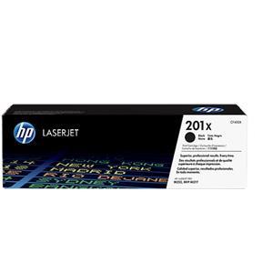 Sort lasertoner - HP 201X - 2.800 sider