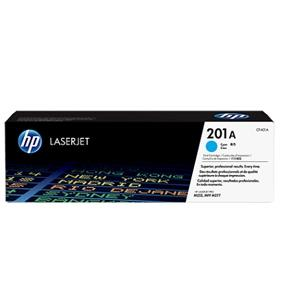 Image of   Cyan lasertoner - HP 201A - 1.400 sider