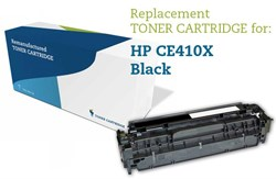Image of   Sort lasertoner - HP 305X - 4.000 sider