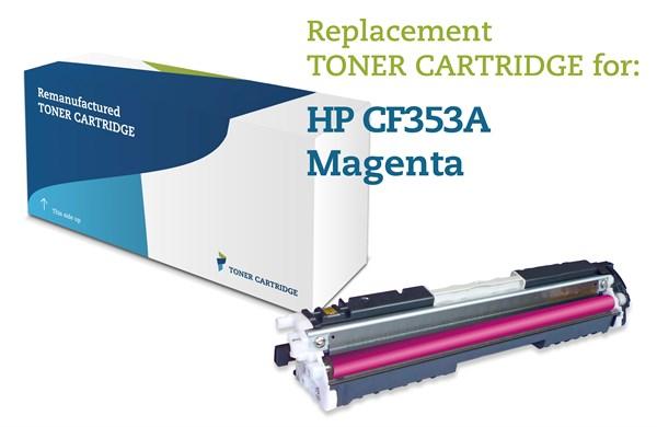 Image of   Magenta lasertoner - HP nr.130A - 1.000 sider