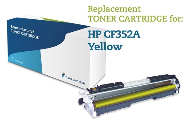 Image of   Gul lasertoner - HP nr.130A - 1.000 sider