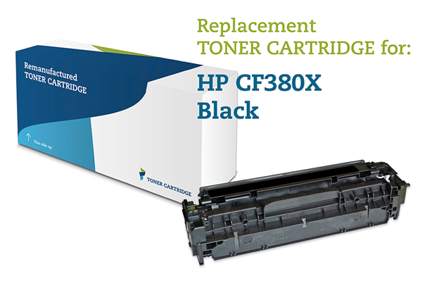 Image of   Sort lasertoner - HP nr.312X - 4.400 sider