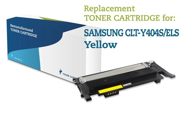 Gul lasertoner - Samsung Y404S - 1.500 sider