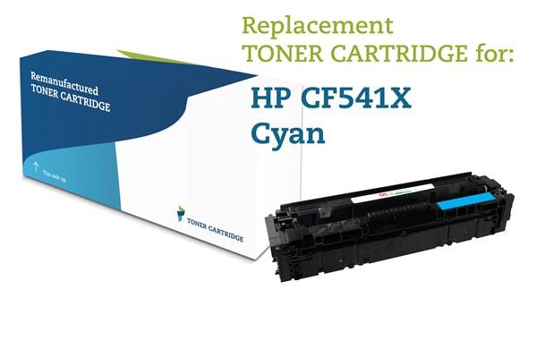 Image of   Cyan lasertoner - HP nr.203 X - 2.500 sider