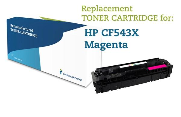 Image of   Magenta lasertoner - HP nr.203 X - 2.500 sider