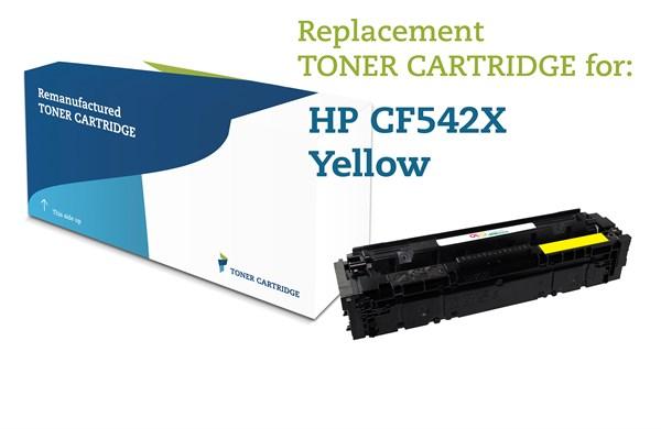 Image of   Gul lasertoner - HP nr.203 X - 2.500 sider