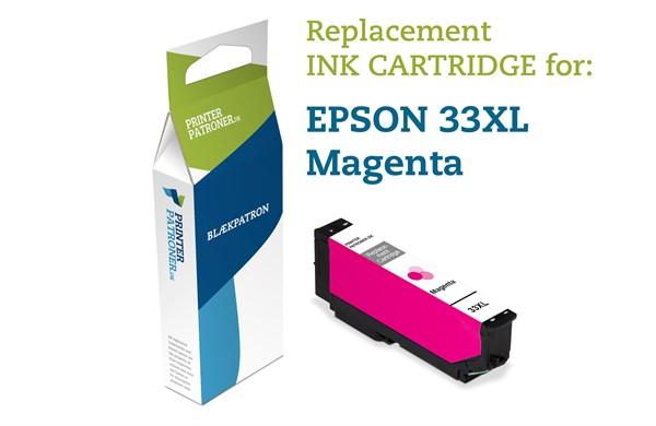 Image of   Magenta blækpatron - Epson T3363M - 11 ml