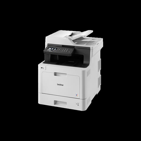 Image of   Brother DCP-L8690CDW - Farvelaser, Kopi/udskriv/scan/fax/Duplex