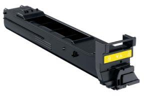 Image of   Gul lasertoner A0DK252 - Konica Miolta - 8.000 sider