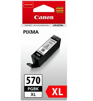Image of   Sort blækpatron 570PGBKXL - Canon - 22 ml