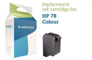 Image of   3-i-en farve blækpatron - HP nr.78 - 45ml