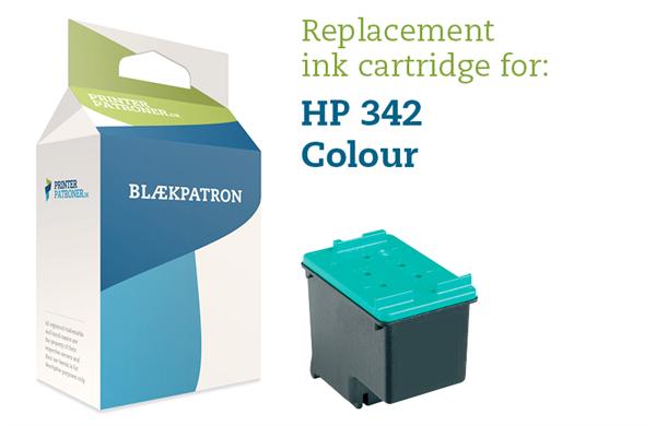 Image of   3-i-en farve blækpatron - HP nr.342 - 14 ml